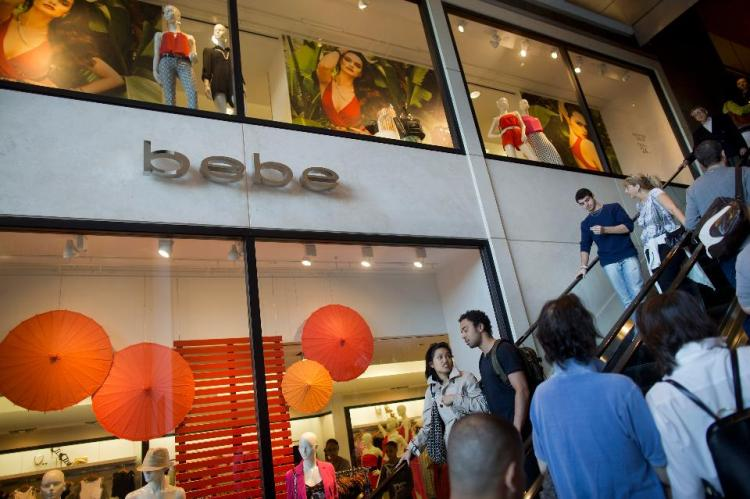 Bebe Stores Inc. shop at The Shops at Columbus Circle mall in New York, U.S., on Monday, May 27, 2013. Photographer Victor J. BlueBloomberg